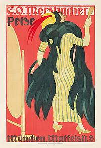 E.O. Merzbacher / Pelze. ca. 1910