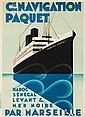 Navigation Paquet / Maréchal Lyautey. 1924