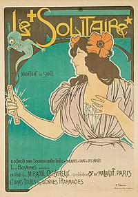 Le Solitaire. ca. 1900