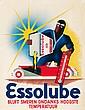 Essolube / Bluft Smeren Ondanks Hoogste Temperatuur. 1935