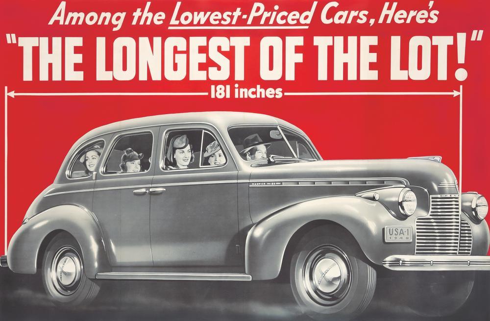 Chevrolet. 1940.