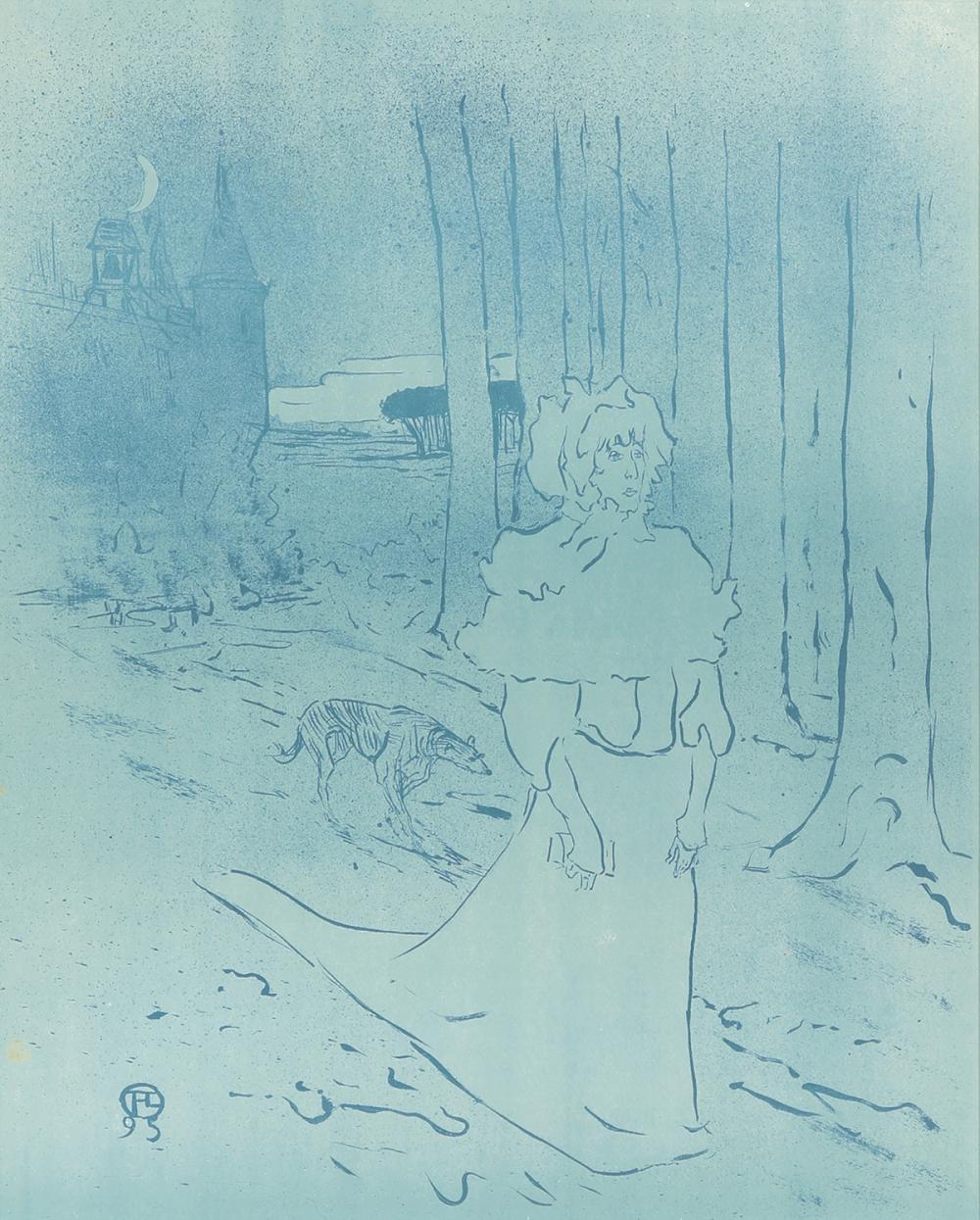 La Dépêche / Le Tocsin. 1895.