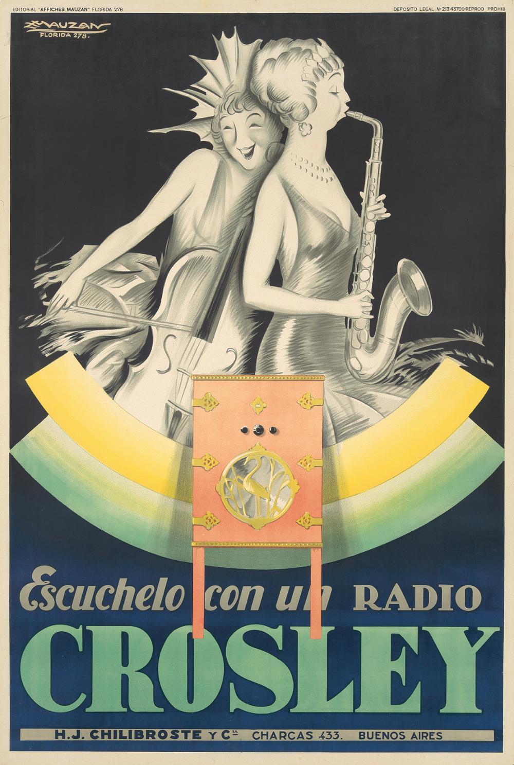 Crosley. 1929.