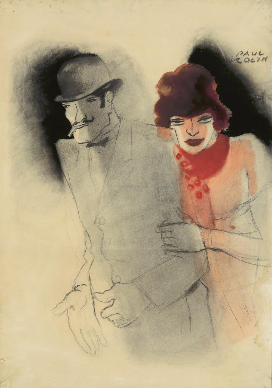 Ces Messieurs Dames : Maquette. 1932.