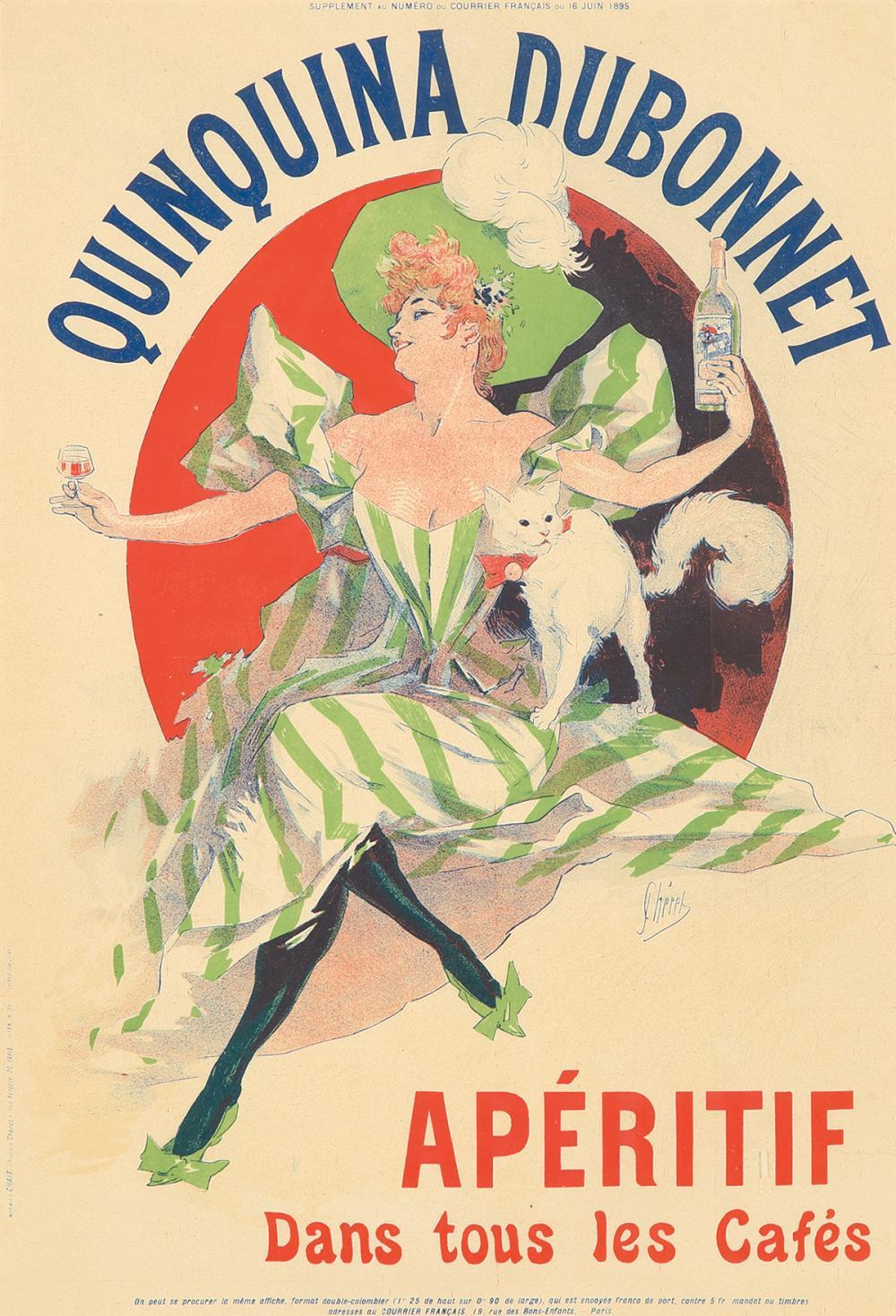 Quinquina Dubonnet. 1895.
