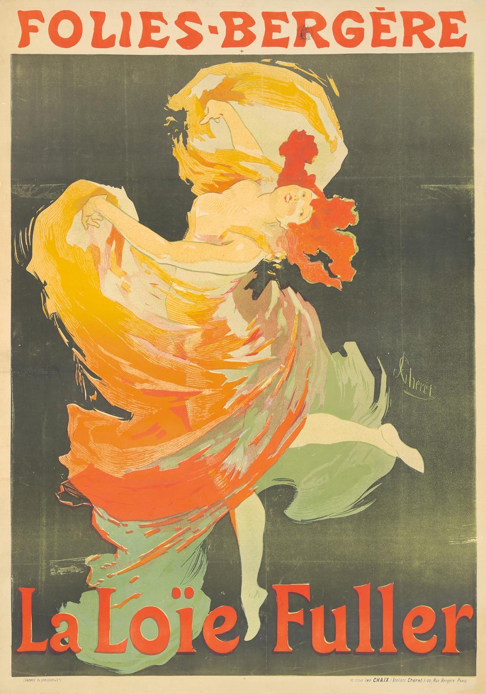 Folies-Bergère / La Loïe Fuller. 1893.