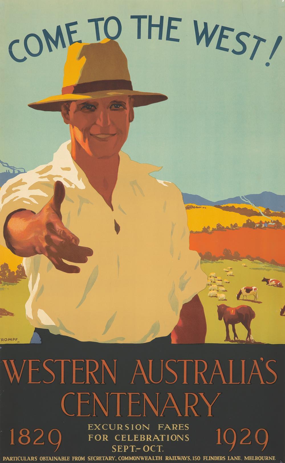 Western Australia's Centenary. ca. 1929.