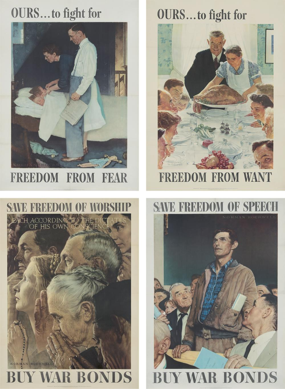Four Freedoms. 1943.