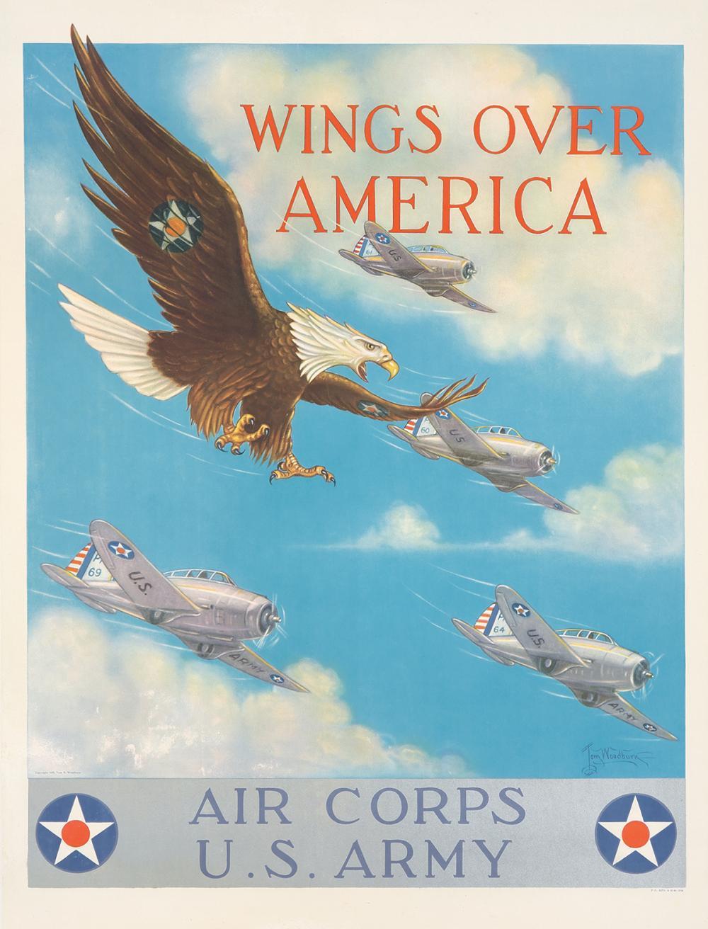 U.S. Army / Wings Over America. 1939.
