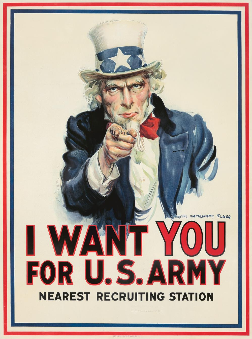 I Want You for U.S. Army. 1917.
