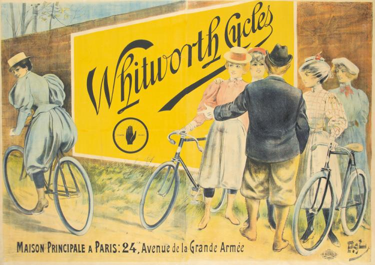 Whitworth Cycles. ca. 1894