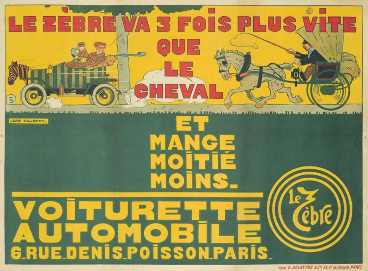 Le Zèbre. 1911