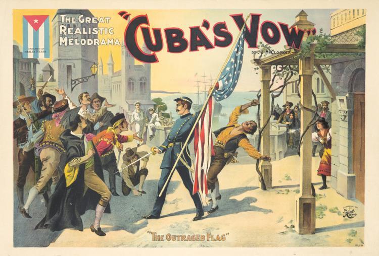 Cuba's Vow. ca. 1897
