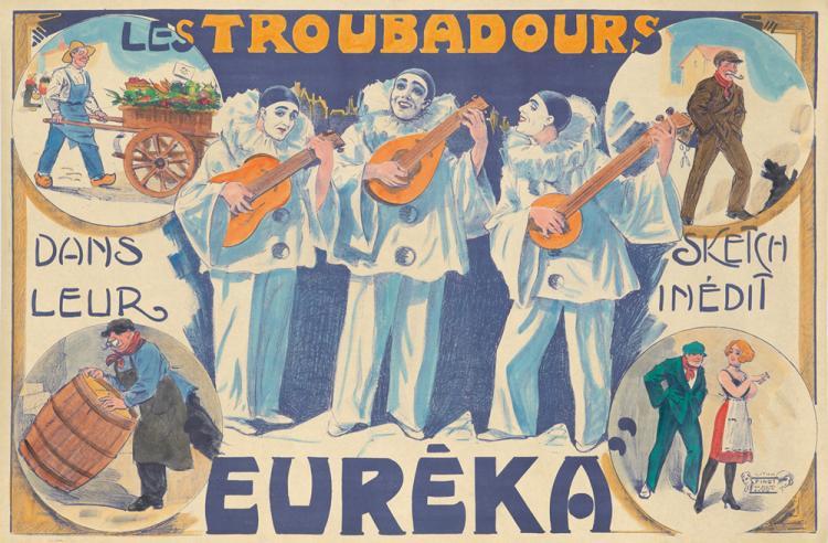 Les Troubadours / Euréka. ca. 1905