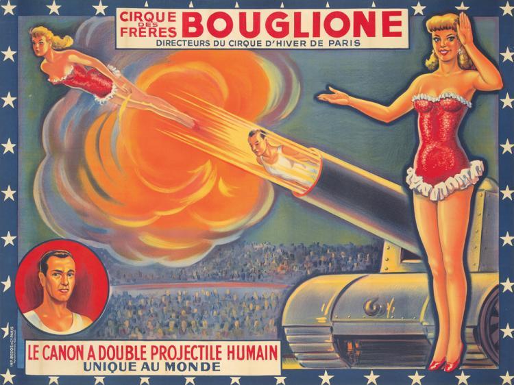 Cirque Bouglione. ca. 1946