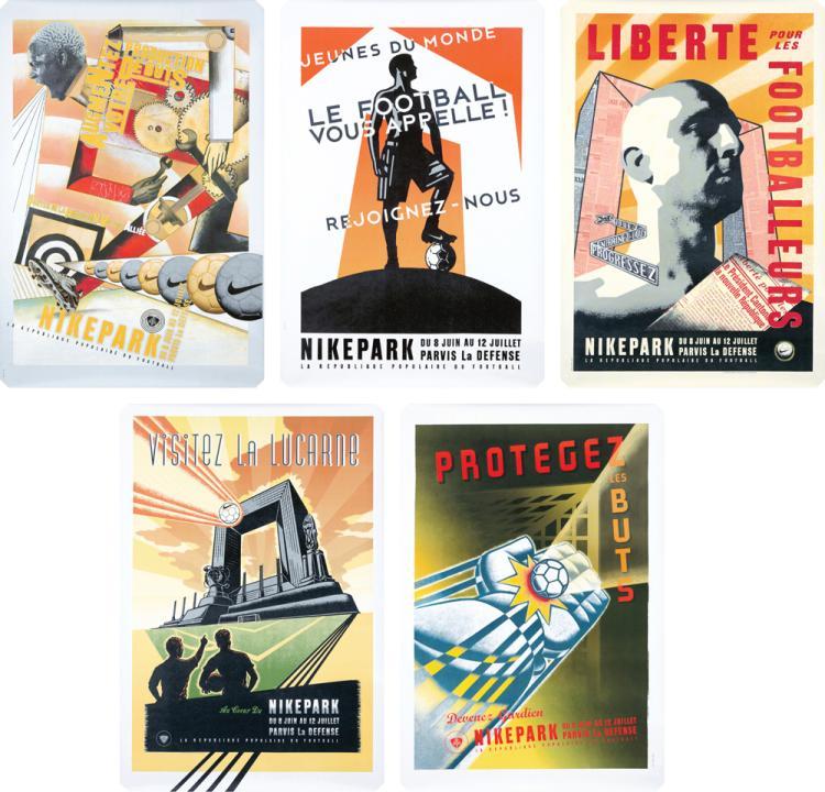 Nikepark: 5 Posters. 1998