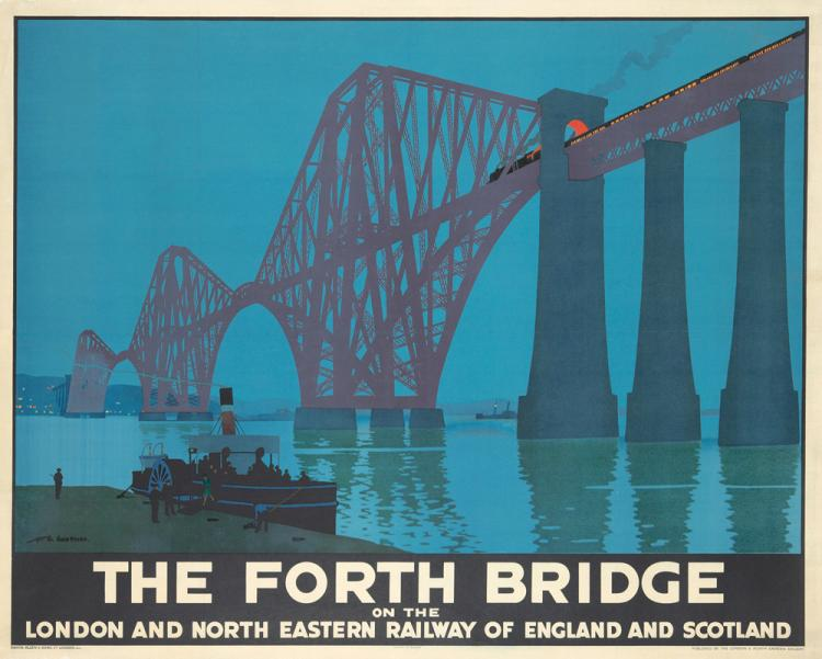 The Forth Bridge. ca. 1925
