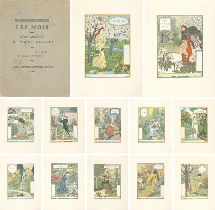 Le Mois / Douze Compositions. 1896