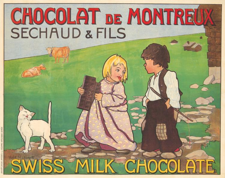 Chocolat de Montreux. ca. 1920