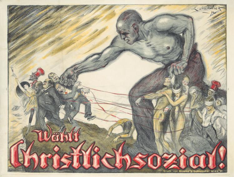 Wählt Christlichsozial! 1920