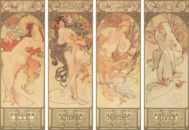 The Seasons. 1897