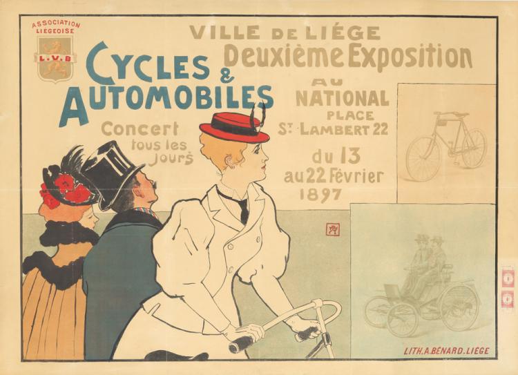 Cycles & Automobiles / Deuxième Exposition. 1897