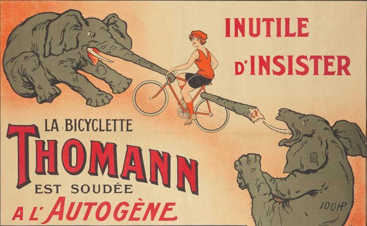 La Bicyclette Thomann. ca. 1923