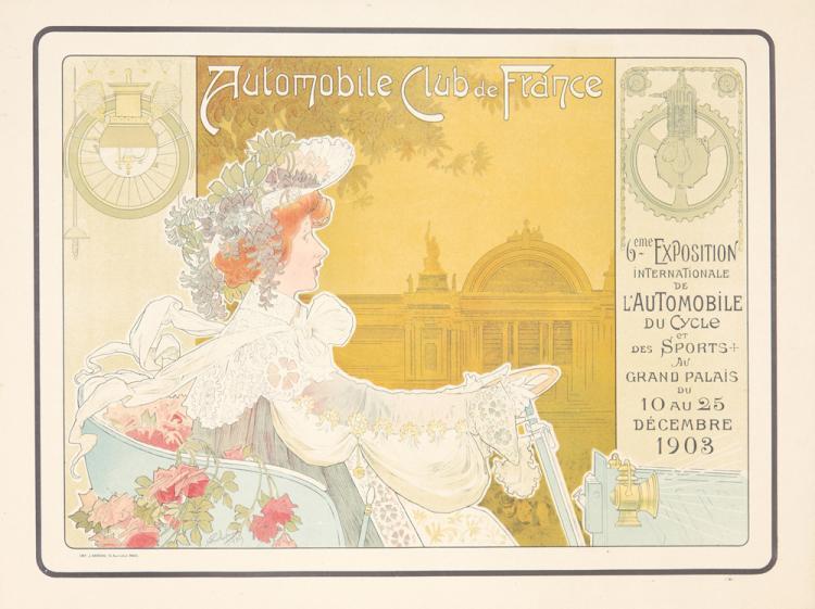 Automobile Club de France / 6eme Exposition. 1903
