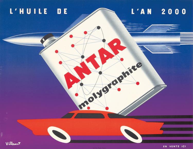 Antar molygraphite / La Huile de l'An 2000. ca. 1960