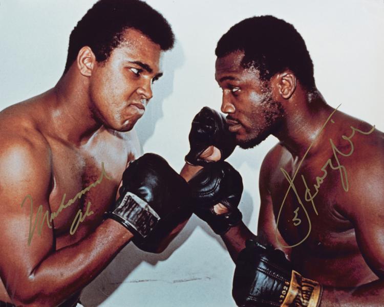 Ali vs. Frazier. 1971