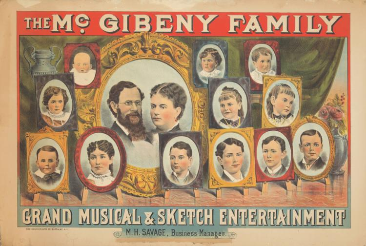 The McGibeny Family. ca. 1882
