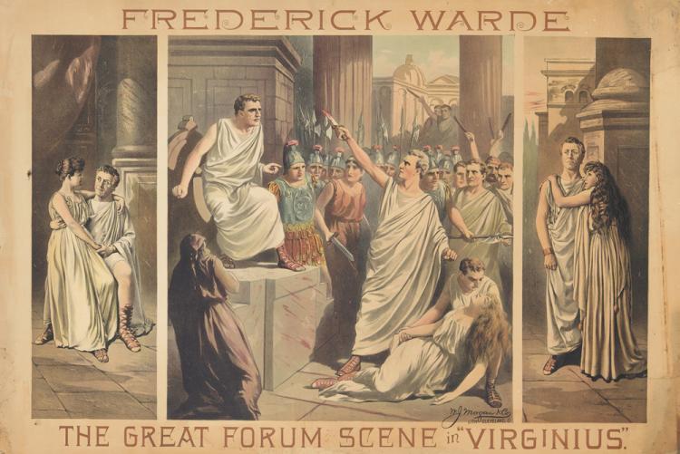 Frederick Warde. ca. 1892