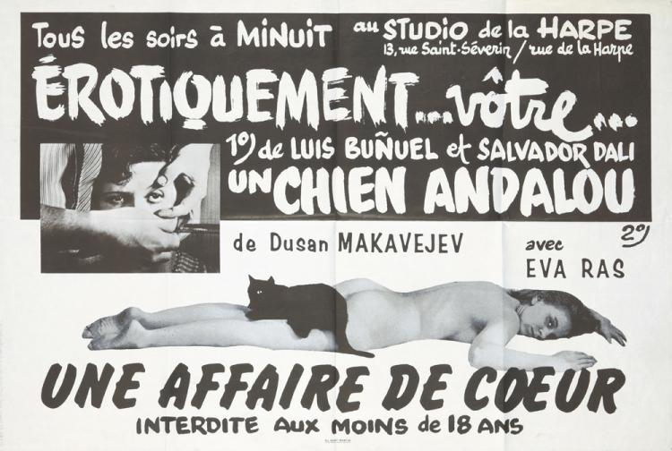 Un Chien Andalou / Une Affaire de Coeur. 1968