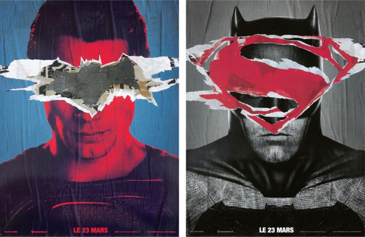 Batman vs. Superman: 2 Posters. 2015