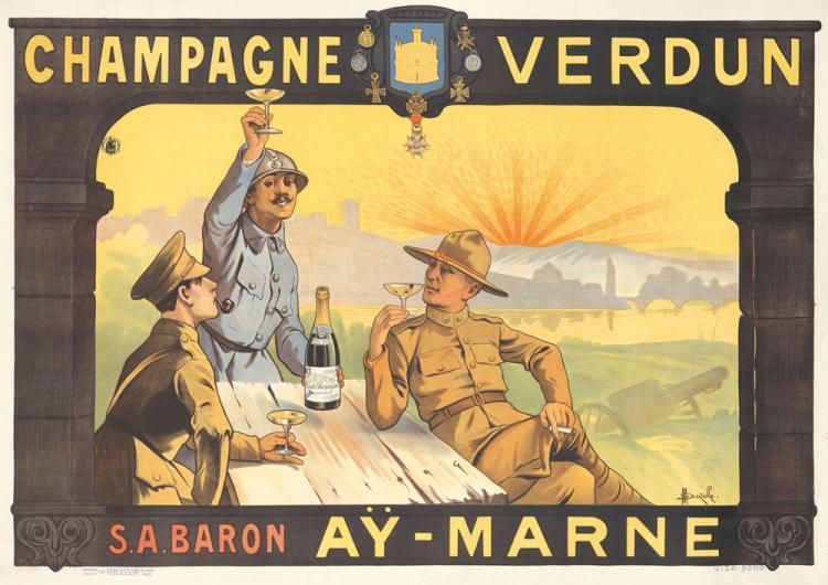 Champagne Verdun. ca. 1918