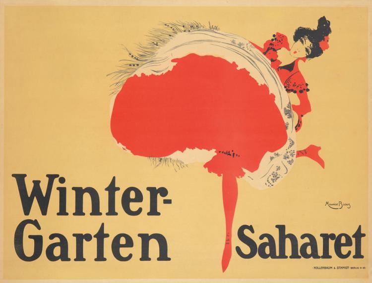 Saharet / Wintergarten. 1902