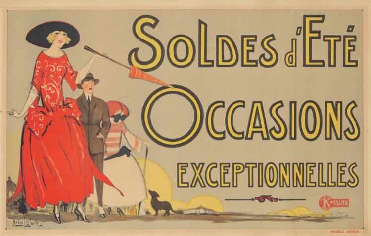 Soldes d'Eté. ca. 1905