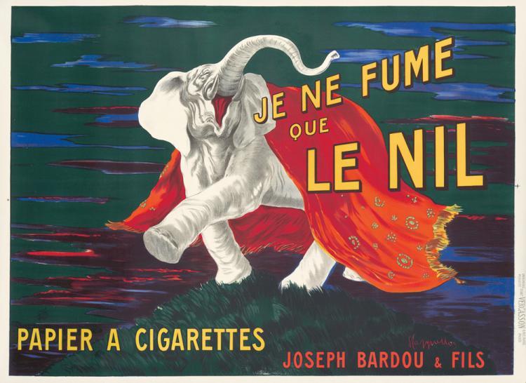 Je ne fume que Le Nil. 1912