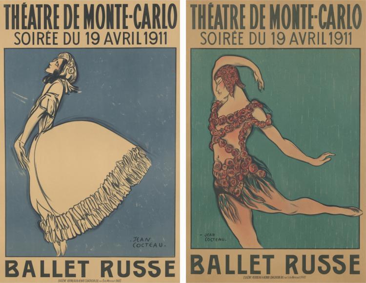 Théâtre de Monte-Carlo / Ballet Russe. 1911