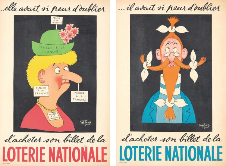 Loterie Nationale. 1956
