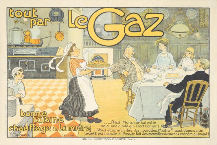 Le Gaz. ca. 1905