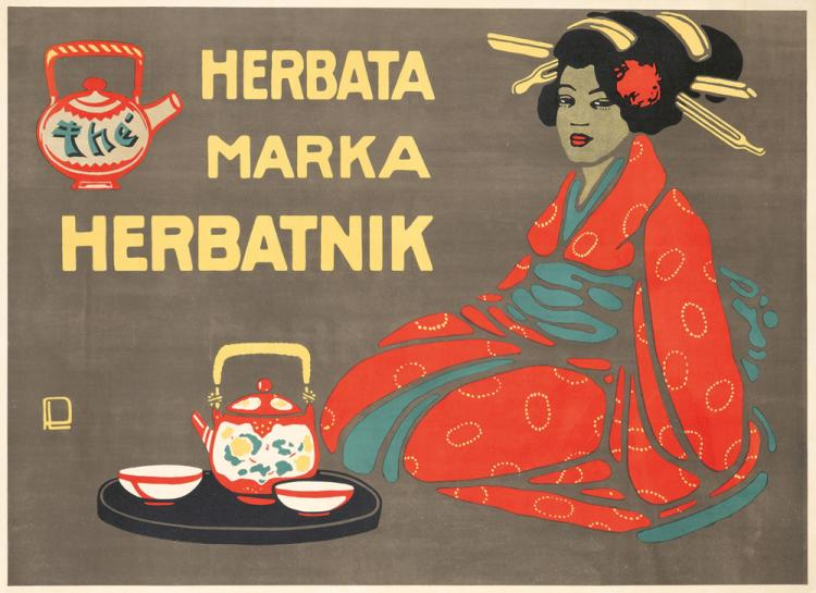 Herbata Marka Herbatnik. ca. 1910