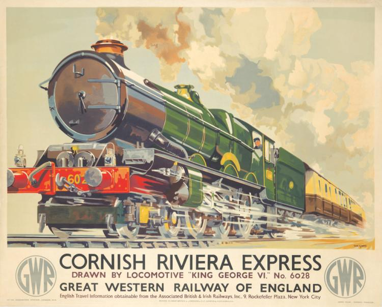 Cornish Riviera Express. 1939