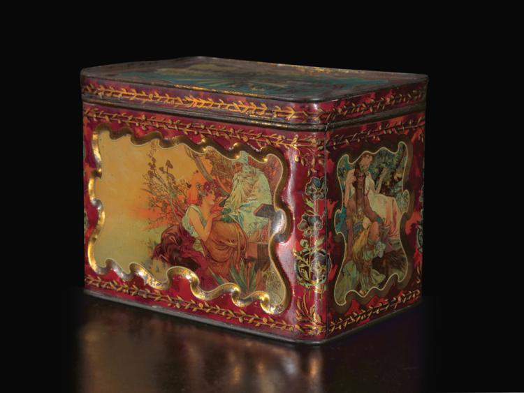 Chocolat Masson Tin Box. 1897