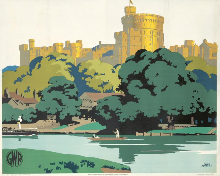 Windsor Castle. ca. 1935