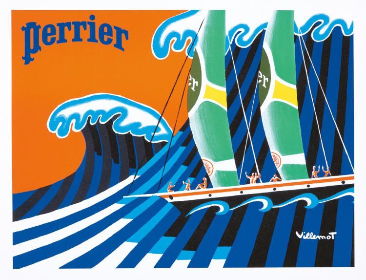 Perrier. ca. 1980