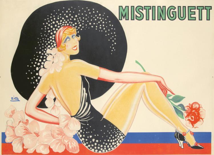 Mistinguett. 1932