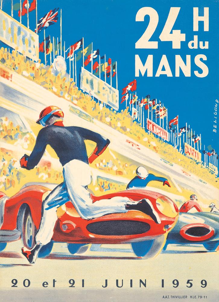 24 H du Mans. 1959
