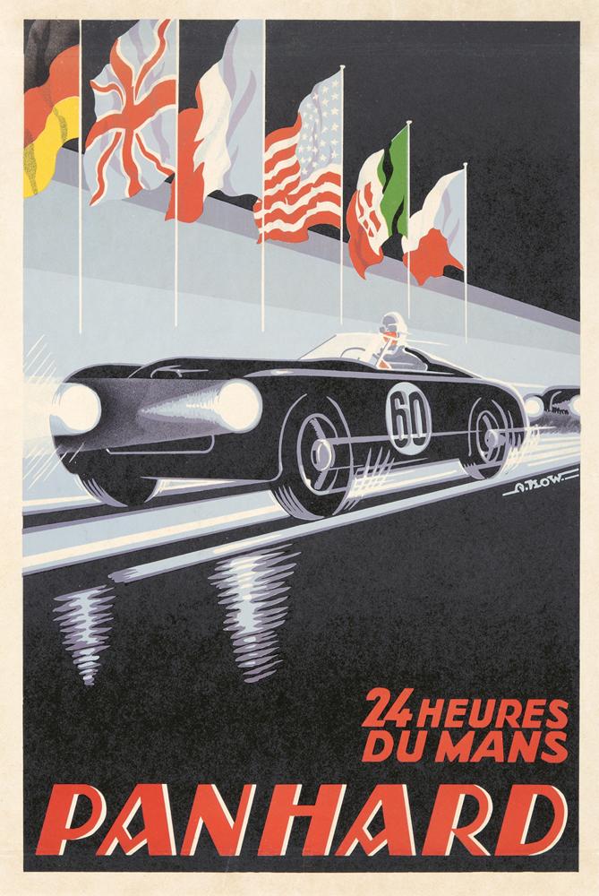 Panhard / 24 Heures du Mans. 1950