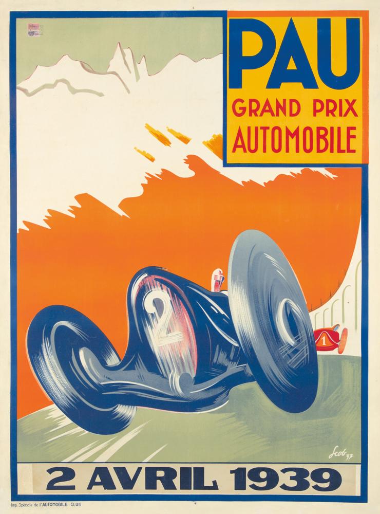 Pau Grand Prix. 1939